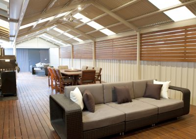MyLiving Outdoors - Steel Verandahs - Timber Decks